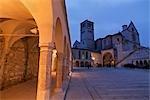 Basilica of San Francesco d'Assisi, Assisi, Umbria, Italy