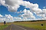 Sur l'autoroute N3 par Natal et champs libres de State Farm