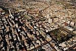 Aerial View over Johannesburg CBD