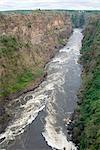 Grande vue du fleuve Zambèze