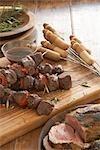 Brochettes de bœuf, Afrique du Sud