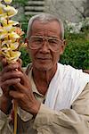 Celebrating Lao New Year, Royal Palace, Luang Prabang, Laos, Indochina, Southeast Asia, Asia