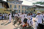 Nguen Thi Minh Khai high school, Ho Chi Minh City (Saigon), Vietnam, Indochina, Southeast Asia, Asia