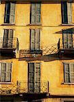 Vieux bâtiments, Bolvedro, Lake Como, Lombardie, Italie, Europe