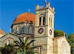 Church, Aegina, Argo-Saronic Islands, Greece, Europe