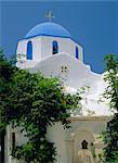 Church, Paroikia, Paros, Cyclades Islands, Greece, Europe