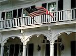 L'auberge victorienne, Edgartown, Martha s Vineyard, Massachusetts, New England, États-Unis d'Amérique, Amérique du Nord