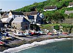 Cadgwith, Lizard Peninsula, Cornwall, England, United Kingdom, Europe