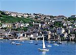Port de Fowey, Cornwall, Angleterre, Royaume-Uni, Europe