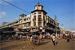 Rues animées, le marché de Cholon, Ho Chi Minh ville (Saigon), Viêt Nam