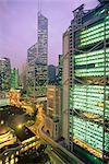 Centrale de Princes Building, Legco Banque de la Banque de Chine, HK, Hong Kong, Chine, Asie