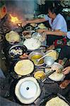 Faire cuire au restaurant, Ho Chi Minh-ville (anciennement Saigon), Viêt Nam, Indochine, Asie du sud-est, Asie