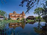 Converted oast house at Markbeech, Kent, England, United Kingdom, Europe