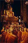 Temple of the Golden Buddha, Bangkok, Thailand, Asia