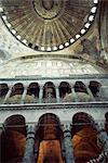 Intérieur de la Sainte Sophie, patrimoine mondial de l'UNESCO, Istanbul, Turquie, Europe, Eurasie
