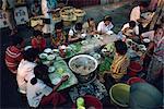 Restaurant rue, Bangkok, Thaïlande, Asie du sud-est, Asie