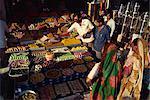 Magasin de bonbons, Ahmedabad, Gujarat, Inde, Asie