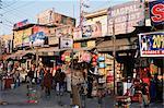 Boutiques et étals, Delhi, Inde, Asie