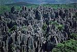 Forêt de pierre calcaire, près de Kunming, Yunnan province, Chine, Asie