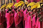 Losar, célébrations du nouvel an, le monastère de Labrang, Province de Gansu, en Chine, Asie