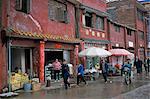 Old traditional housing, Xingyi, Guizhou, China, Asia