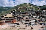 Yushu, Province de Qinghai, Chine, Asie