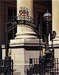 La Law Society entrée, Londres, Royaume-Uni, Europe