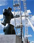 London Eye, London, England, Vereinigtes Königreich, Europa