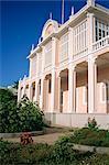 Palacio de Poua, a palace in Mindelo, on Sao Vicente Island, Cape Verde Islands, Atlantic, Africa