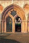 Cloîtres cathédrale de Norwich, datant des 13ème au 15ème siècles, Norwich, Norfolk, Angleterre, Royaume-Uni, Europe