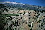 Les gorges de Aradaina et les montagnes blanches, Sfakia, Crète, Grèce, Europe