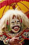 Topeng dancer, Denpasar, Bali, Indonesia, Southeast Asia, Asia