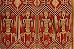 IBAN textiles ikat, Kuching, Sarawak, Malaisie, Asie du sud-est, Asie