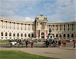 Heldenplatz, New Hofburg, Vienna, Austria, Europe