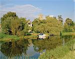 River Avon, Bidford-on-Avon, Warwickshire, England, United Kingdom, Europe