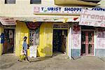 Shop fronts, St. George's, Grenada, Windward Islands, West Indies, Caribbean, Central America