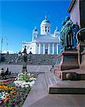 Luthérien Chrétien cathédrale, Helsinki, Finlande, Scandinavie, Europe