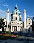 St. Charles Borromeo church, Vienna, Austria, Europe