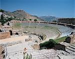Romains et grecs théâtre, Taormina, Sicile, Italie, Europe