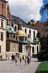 Wawel cathédrale et château, Cracovie, Makopolska, Pologne, Europe