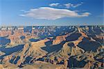 Grand Canyon, sur le bord du Sud, Arizona, États-Unis d'Amérique, Amérique du Nord