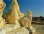 Ancient temples and pagodas, Bagan (Pagan), Myanmar (Burma), Asia