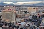 Caesar's Palace Hotel and Casino and the Las Vegas Strip, Paradise, Nevada, USA