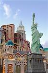 New York New York Hotel and Casino, Paradise, Las Vegas, Nevada, USA