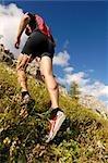 person jogging, Trentino Alto Adige italy