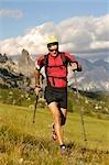 personne randonnée, Trentino Alto Adige Italie