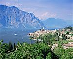 Malcesine, lac de garde, Trentin-Haut-Adige, lacs italiens, Italie, Europe