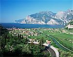 Torbole, lac de garde, Lombardie, lacs italiens, Italie, Europe