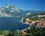 Torbole, Lago di Garda, Lombardia, Italy, Europe