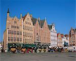 Main Town Square, Bruges, Belgium, Europe